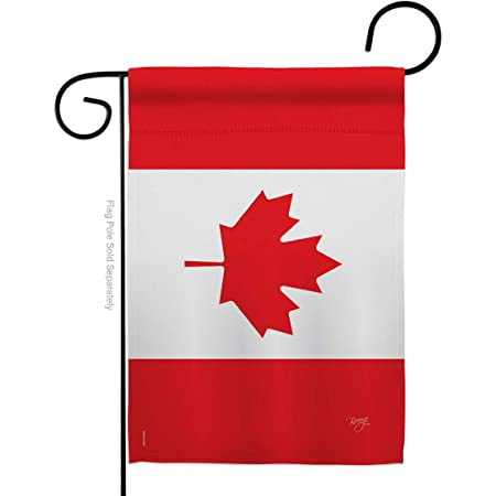 Breeze Decor Canada Country Flags Of The World Everyday Impressions Decorative Vertical Garden Flag 13 X 18 5 Printed In Usa Garden Outdoor