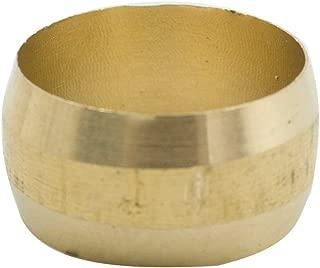 Legines 20 pcs Brass Compression Tube Fitting, Sleeve, 3/8