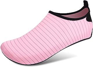 Women Water Sokken Strandschoenen Zwemmen Schoenen Barefoot Bescherming Sneldrogend Snorkelen Surfen Duiken Aqua Sokken,Pi...