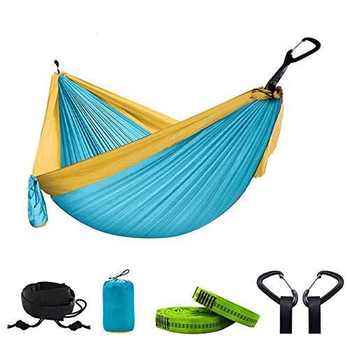 NOBRAND 300 * 200 Double Hammock Outdoor Camping Parachute Hammock Backpack Travel Survival Hunting Sleeping Portable Hanging Garden Bed