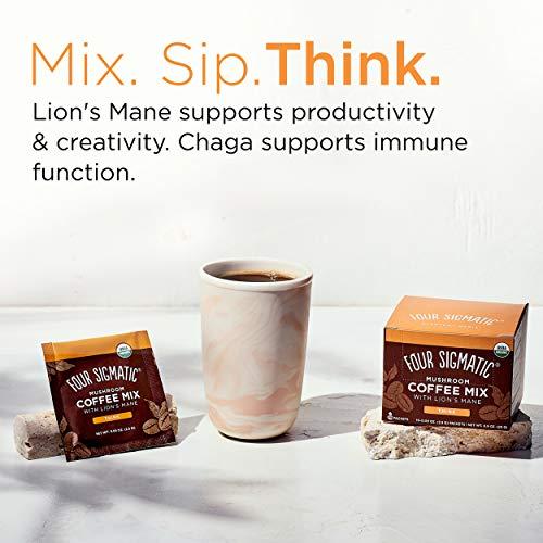 FOUR SIGMATIC Mushroom Coffee Lion's Mane & Chaga 10sach