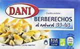 Dani - Berberechos al natural 58 gr - Pack de 5 (Total 290 grams)