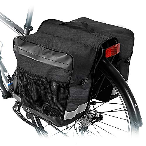Hebey bagagedragertassen fiets, Amsterdam Double MTB Mountain Bike fiets bagagetas achter zitting Trunk Bag