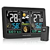 Best Home Weather Stations - MOHOO Weather Stations with Outdoor Sensor Wireless, LCD Review