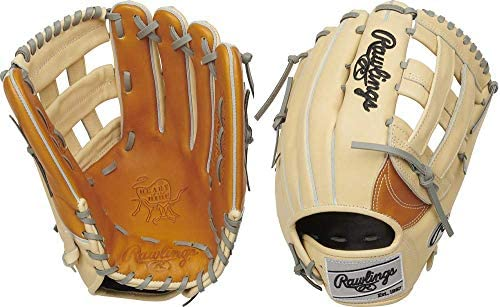 Rawlings Heart of The Hide Baseball Glove Pro H Web 12 75 inch Right Hand Throw Camel Tan Grey product image