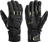 Leki HS Progressive 7 S MF Touch - Botas de esquí, Color Negro, Unisex Adulto, Color Schwarz-Lime, tamaño 7-