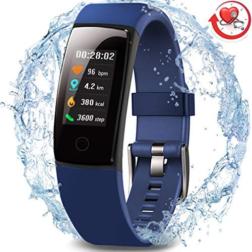 Waterproof Health Tracker,MorePro Fitness Tracker Color...