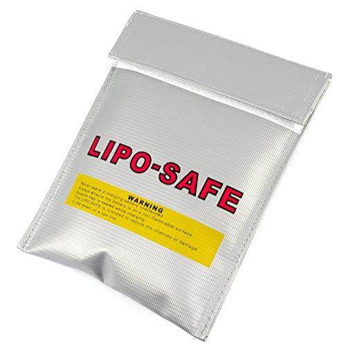 Lipo Safe Bag feuerfest zum sicheren Laden von Akkus - Verschiedene Größen I Feuerfeste Akku Tasche - Lipo Safety Guard aus Aramid Gewebe