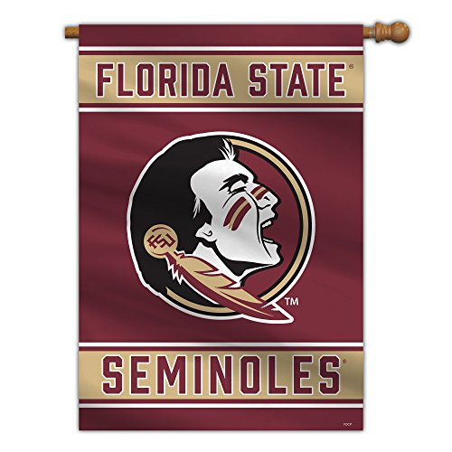 Fremont Die NCAA Florida State Seminoles 2-Sided House Flag, 28' x 40', 28' x 40', Team Colors