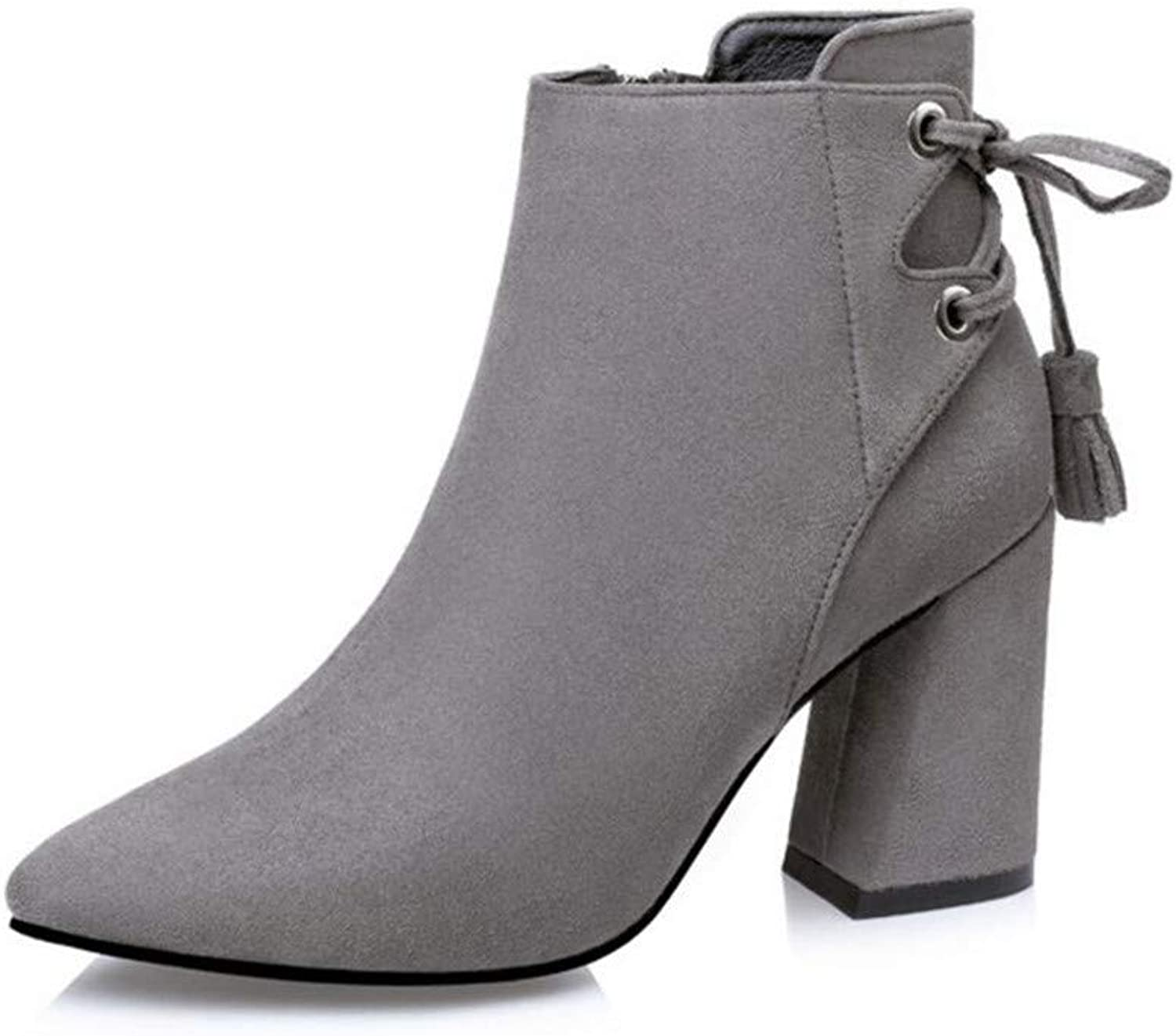 Zgshnfgk High Heel Booties for Women