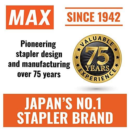 Max Flat-Clinch Black Standard Stapler with 30 Sheet Capacity (HD-50DFBK) (Fоur Paсk) Photo #2