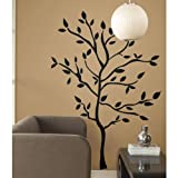 RoomMates Tree Branches Peel and Stick Wall Decals - RMK1317GM , White