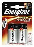 Energizer Original Batterie Ultra Plus Baby C (1,5 Volt,