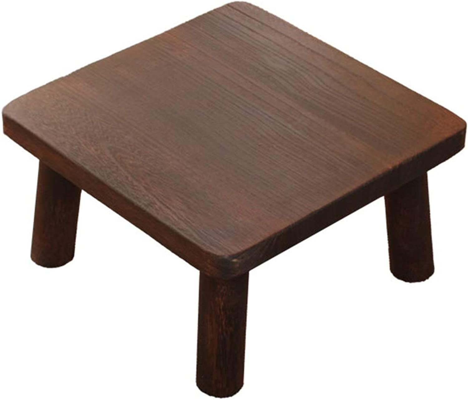 Coffee Tables Table Japanese Household Bay Window Side Square Solid Wood Coffee Table Mini Coffee Table Gift (color   Brown, Size   36  36  21cm)