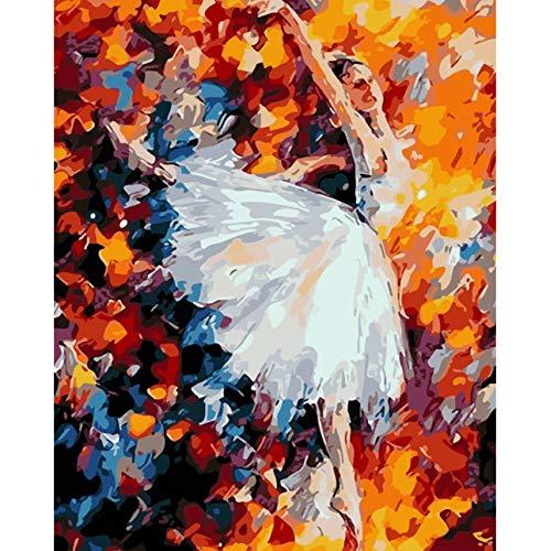 Puzzle 1000 Piezas Diy Ballet Bailarina Dibujo Mano Ed Imagen