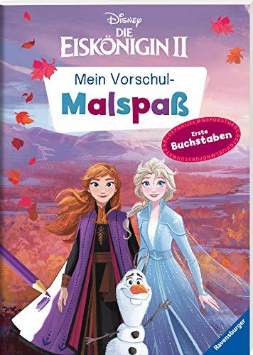 Disney Die Eiskönigin 2: Mein Vorschulmalspaß. Erste Buchstaben