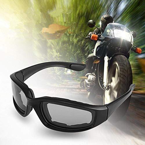 XuBa - Gafas Protectoras para Motocicleta, Resistente al Viento, para Ciclismo, protección de Ojos, Accesorios de protección contra la Arena