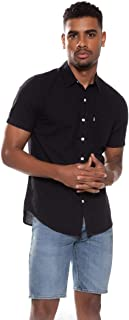 Camisa Levis Short Sleeve Classic One Pocket Masculino Preto