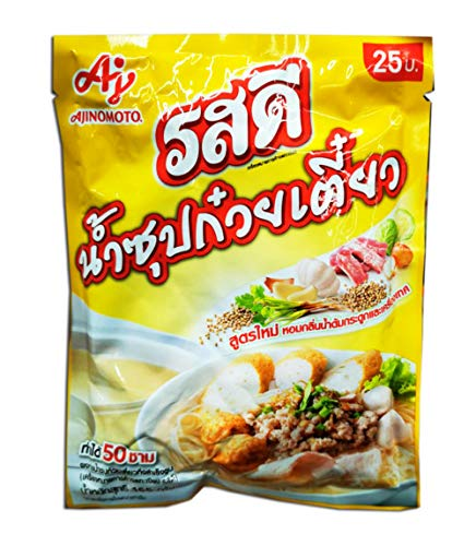 Rosdee instant Clear Soup Powder For Making Noodle, Sukiyaki, Hotpot Soup,165 g.(Pack of 1) // By Benjawan Shop