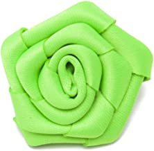 Jacob Alexander Satin Open Rose Lapel Flower Boutonniere