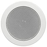 Hollywood DL-13 - Altavoz empotrable (136 mm de diámetro, 60 W), Color Blanco