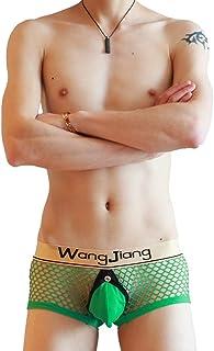 Joe Wenko Mens Cozy Underwear Print Low Waist Breathable Briefs