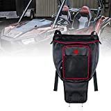 Xprite UTV Center Seat Storage Organizer Bag with Red Lining for 2008-2021 Polaris Razor 570 800 S 900 1000 XP Turbo