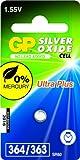 GP Batteries 040UP364C1 Uhren Batterie (SR621SW) schwarz