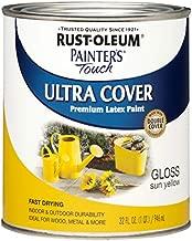 Rust-Oleum 1945502, Quart, Gloss Sun Yellow
