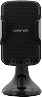Promate Universal Car Mount Mobile Grip Holder with Suction Cup - Black