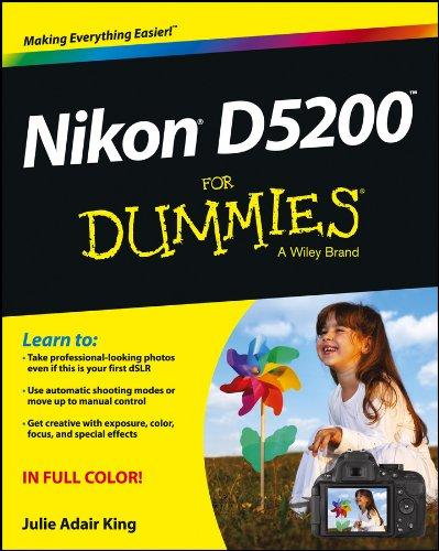 Nikon D5200 For Dummies (English Edition)