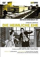チマローザ:歌劇「秘密の結婚」全曲(ドイツ語歌唱、マゼール指揮)[DVD]
