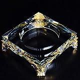 Cendrier En Cristalcendrier En Verre En Cristal De Mode Cadeau Cool De Grande Taille Salon De Style Européen Cendrier