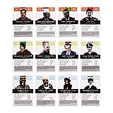 Tyrannen & Despoten Quartett – Das Diktatoren Kartenspiel die 32 übelsten Führer der Geschichte auf Spielkarten - 5