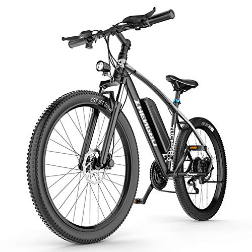 Electric Bike for Adults 48V 400W 25Mph Brushless Motor 27 Speed...
