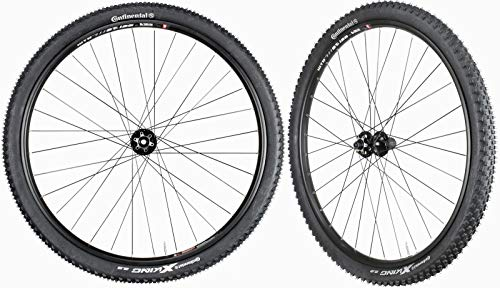 WTB SX19 Mountain Bike Wheelset 29' Continental Tires Novatec Hubs Front 15mm Rear 12mm 11 Speed