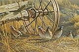 YHKTYV Una bandada de pájaros Perdiz 1000 Piezas Puzzle Educational Game Ideal para La Colección De Juegos Familiares Art Painting Puzzle Decoración
