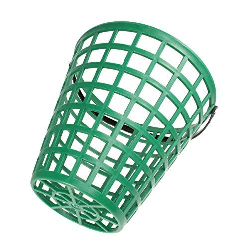 Abaodam Cesta de pelota de golf con mango para pelotas de golf, cesta de bola con accesorios para estadios (75 unidades)