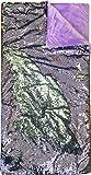 American Kids Super Cozy Reversible Sequin Sleeping Slumber Bag, Royal Plush & Luxurious Dazzle-Purple