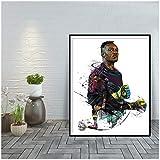WXUEH Steve Mandanda Kunstdruck Home Wanddekor Poster Und