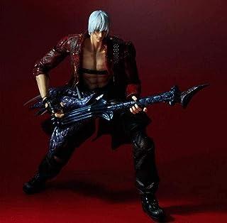 LF-YGJ Estatua de Anime 27cm Juego Cambio de Arte Cambio de Juego Arte Dante Modelo de Personaje de acción Colección de Ju...