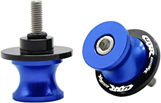 2pcs Diabolos M8*1.5 CNC Aluminio 8mm Tornillos para Honda CBR600RR CBR 600 RR 2007-2020 CBR600RR ABS 2009-2020(Azul)