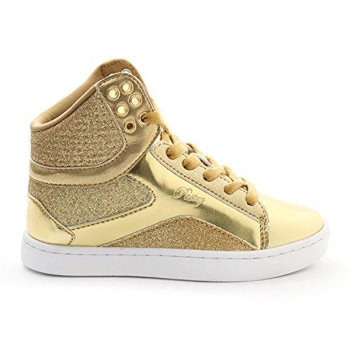 Pastry Pop Tart Glitter High-Top Sneaker & Dance Shoe for Girls