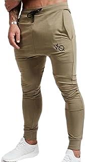 QianQian-AU Mens Joggers Pants Running Sweatpants Harem Tracksuit Trousers