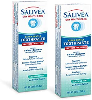 Salivea Dry Mouth Toothpaste Pack of 2
