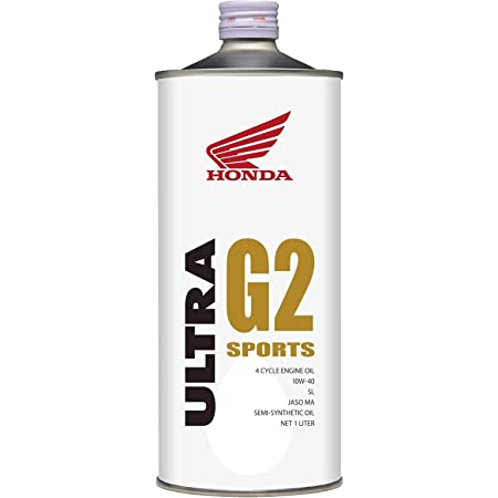 Honda(ホンダ) 2輪用エンジンオイル ウルトラ G2 SL 10W-40 4サイクル用 1L 08233-99961 [HTRC3]