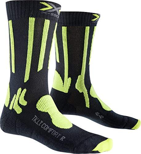 X-SOCKS Light Chaussette Trekking Mixte Adulte, Gris/Vert, FR : S (Taille Fabricant : S : 35-38)
