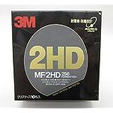 住友3M 3.5インチフロッピーディスク MF/2HD 256 クリアケース10枚入