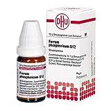 DHU Ferrum phosphoricum D12 Globuli, 10 g Globuli