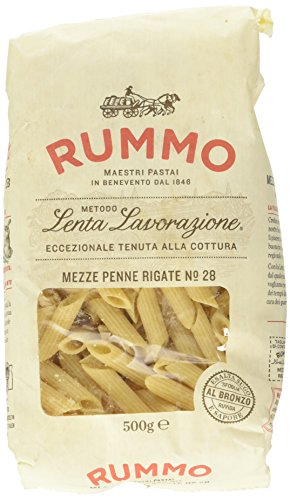 Rummo Mezze Penne Rigate - 500 gr